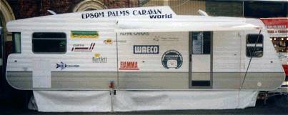 Display Van at the Bendigo Caravan Show